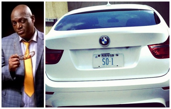 Gospel Singer Sammie Okposo Acquires 2011 BMW X6 (Photo)