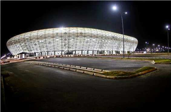 Akwa Ibom Steadium naijaloaded com3 See Akwa Ibom States World Class Stadium (Photos)