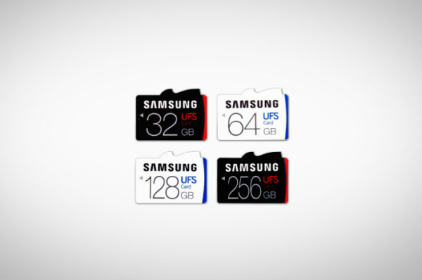 Samsung Introduces World's First UFS Memory Cards With Up To 256GB Storage