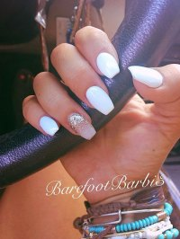 25 Popular Ring Finger Nail Art Designs - Nail Art Designs ...
