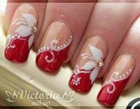 8 Cool Red and White Nail Designs | Nail Art Designs 2018