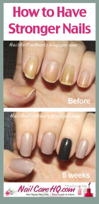 Stronger Nails With Oil Pure Nail Oiltm Challenger Kelli39s