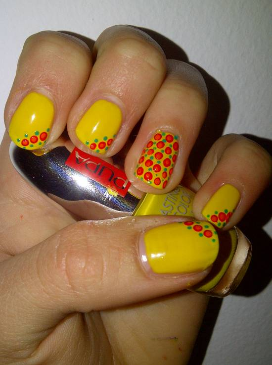 Yellow Nail Polish On Dark Skin Hession Hairdressing