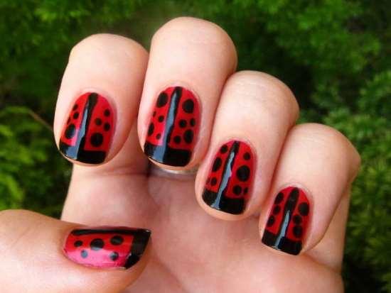 42 Cute Ladybug Nail Art Designs