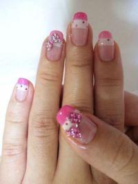 50 Stylish Bow Nail Art Designs   Nail Design Ideaz