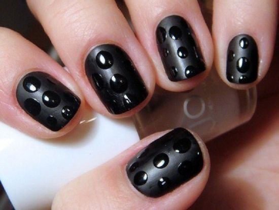 Comfortable 18 Cute Matte Nail Art Tutorials Nail Design Ideaz