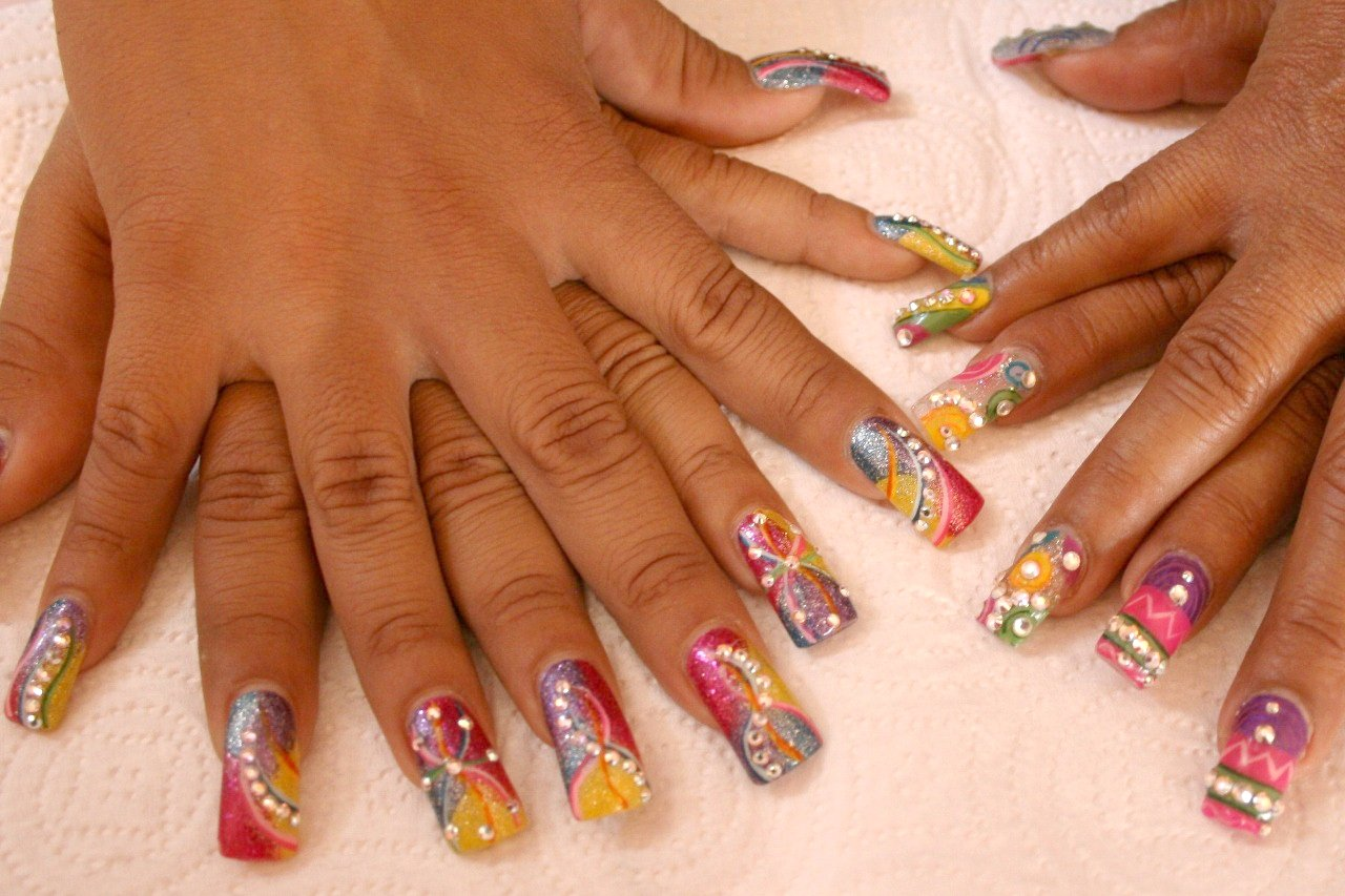 Cute Nail Arts Wallpaper Nail Designs Step By Step Tutorials Nail Designs For You