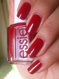 Essie Red - Limited Addiction nail polish color - Nail ...