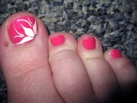Simple nail art designs for beautiful feet  NAILKART.com