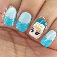 Disney Frozen movie inspired 15+ Best Nail arts  NAILKART.com
