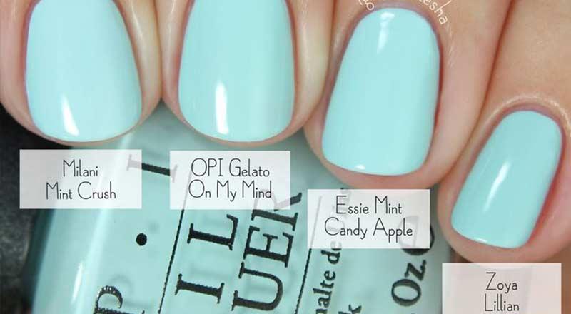 Best Baby Blue Nail Polish Color Nailshe