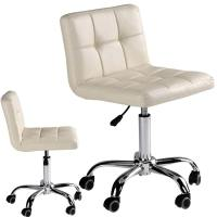 EuroStyle Nail Technician Chair | Soft Ivory Color  Model ...