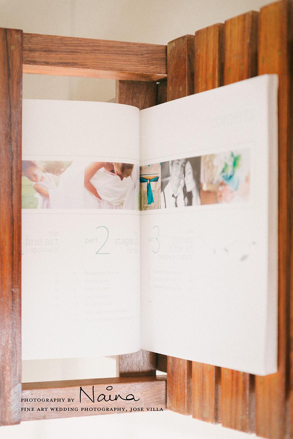 Fine Art Wedding Photography by Jose Villa & Jeff Kent. Photography Book Review. Photography by professional Indian lifestyle photographer Naina Redhu of Naina.co
