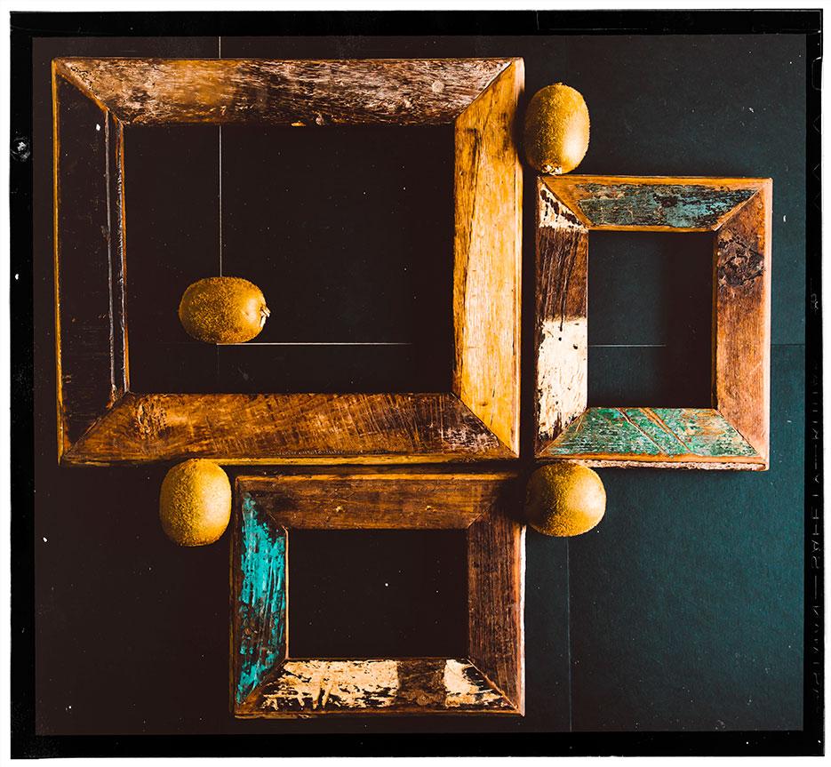 Concept. Layout. Frames & Fruit. Photography by professional Indian lifestyle photographer Naina Redhu of Naina.co