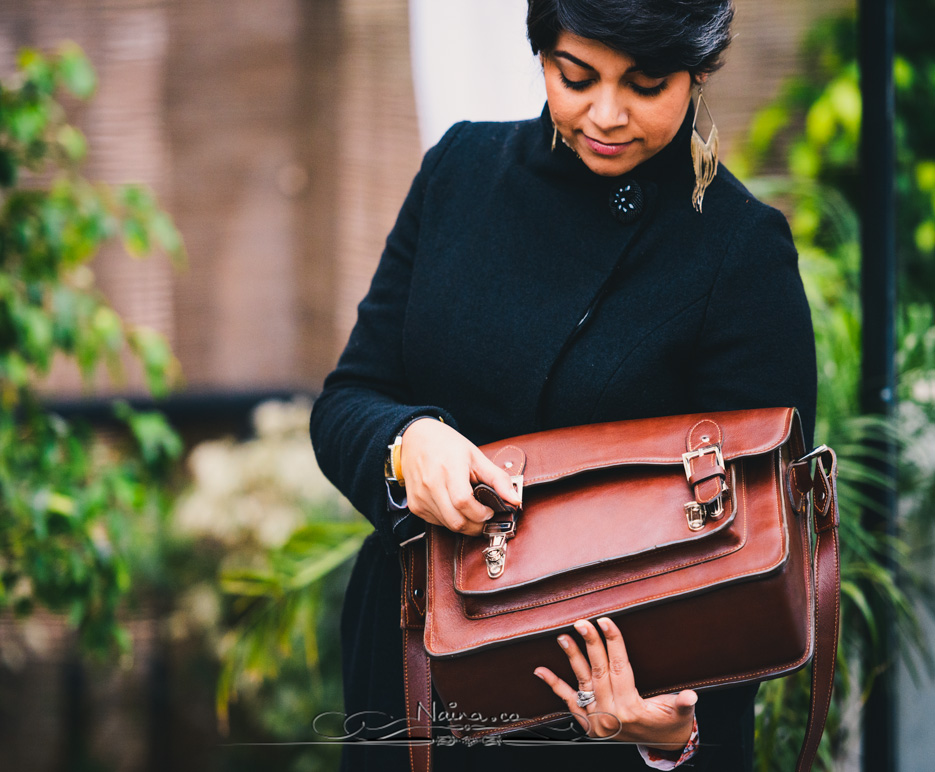 ONA Bags, Brooklyn Satchel Camera Bag, photographed by Lifestyle photographer, blogger Naina Redhu of Naina.co