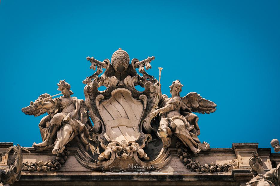 Trevi Fountain, Rome, Italy, Restoration efforts by Fendi : Italian Luxury Fashion House, photographed by Lifestyle & Luxury photographer & blogger Naina Redhu of Naina.co