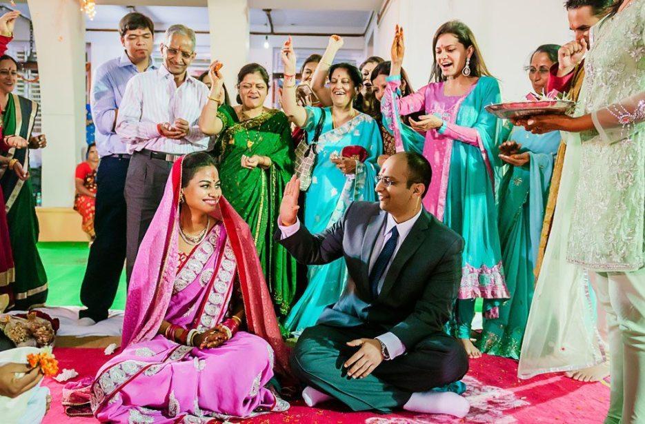 Indian wedding photographer : photography by Naina and Knottytales   Anuradha & Vaibhav : Engagement Ceremony