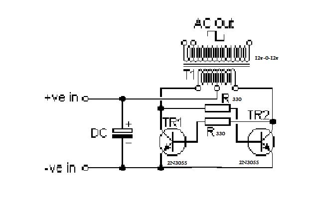 circuit diagram how to build an inverter ranging from 250 watts to