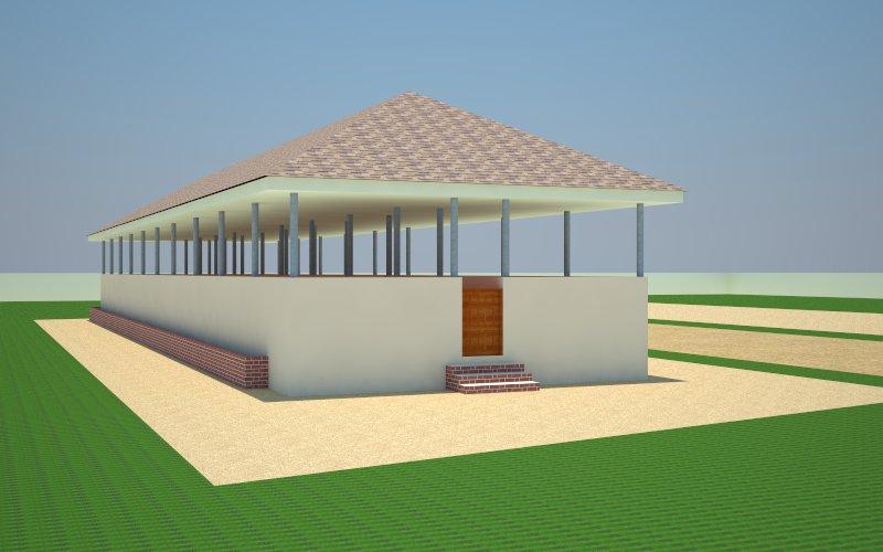 Piggery House Construction Design Details Agriculture