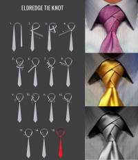 Men's Fashion Tip Of The Day: How To Tie The Eldredge Knot ...