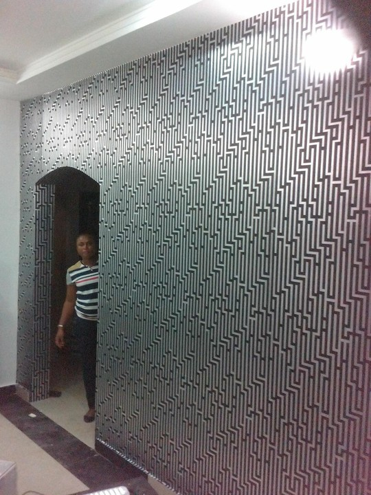 3d Wallpaper Designs For Living Room Where To Get Wallpapers In Lagos Properties Nigeria