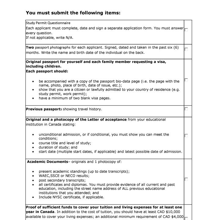 Canadian study permit questionnaire form ltt canadian study permit questionnaire form solutioingenieria Gallery