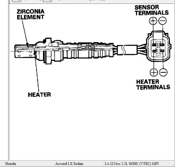 air fuel ratio sensor wiring diagram