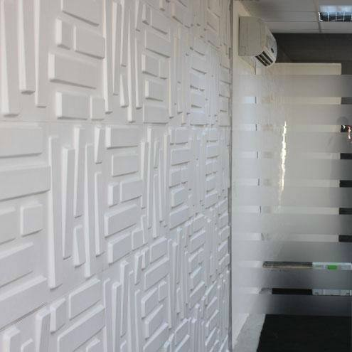 How To Install 3d Wallpaper 3d Wall Panel Amp Wallpaper Unique Ways Of Wall Cladding