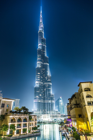10 Interesting Facts About Burj Khalifa(tallest Building In The World) - Properties - Nigeria