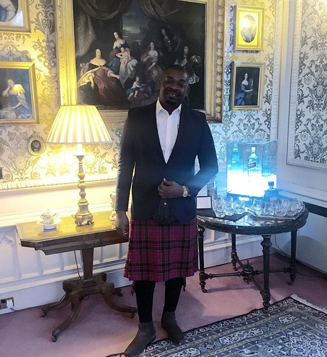 RMD and Don Jazzy Spotted in Scotland, See Cute Photos.