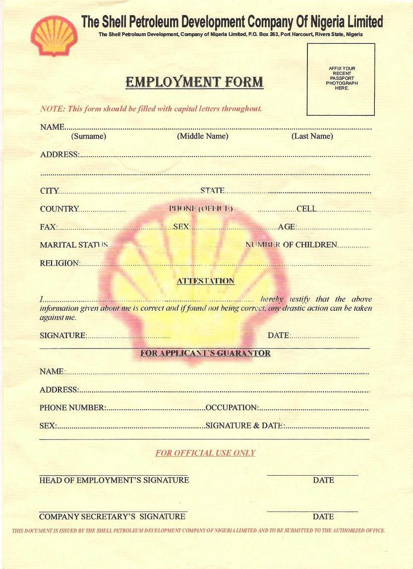 jobs with application forms