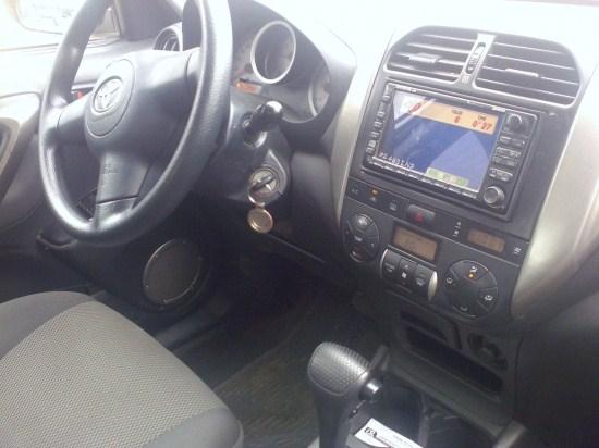 2005 Toyota Rav 4 Full Chrome Bars Dvd 1850m Autos