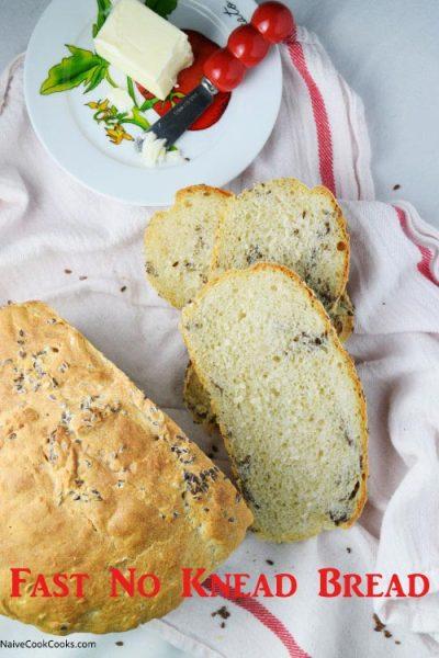 Fast No Knead Bread | Naive Cook Cooks