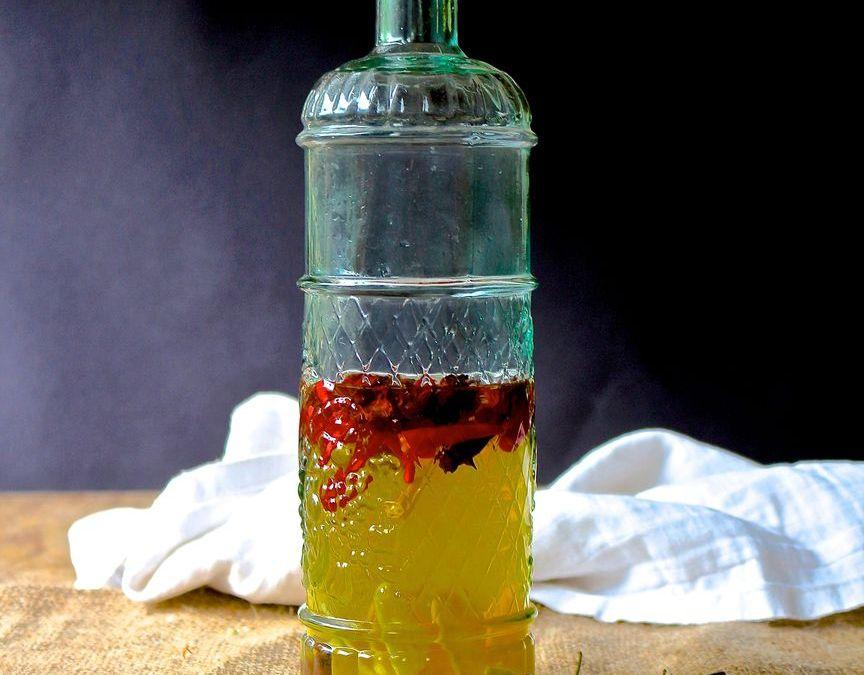 Asian Hot Pepper Vinegar