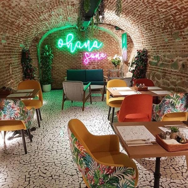 Ohanasana Madrid restaurant by Naked Madrid