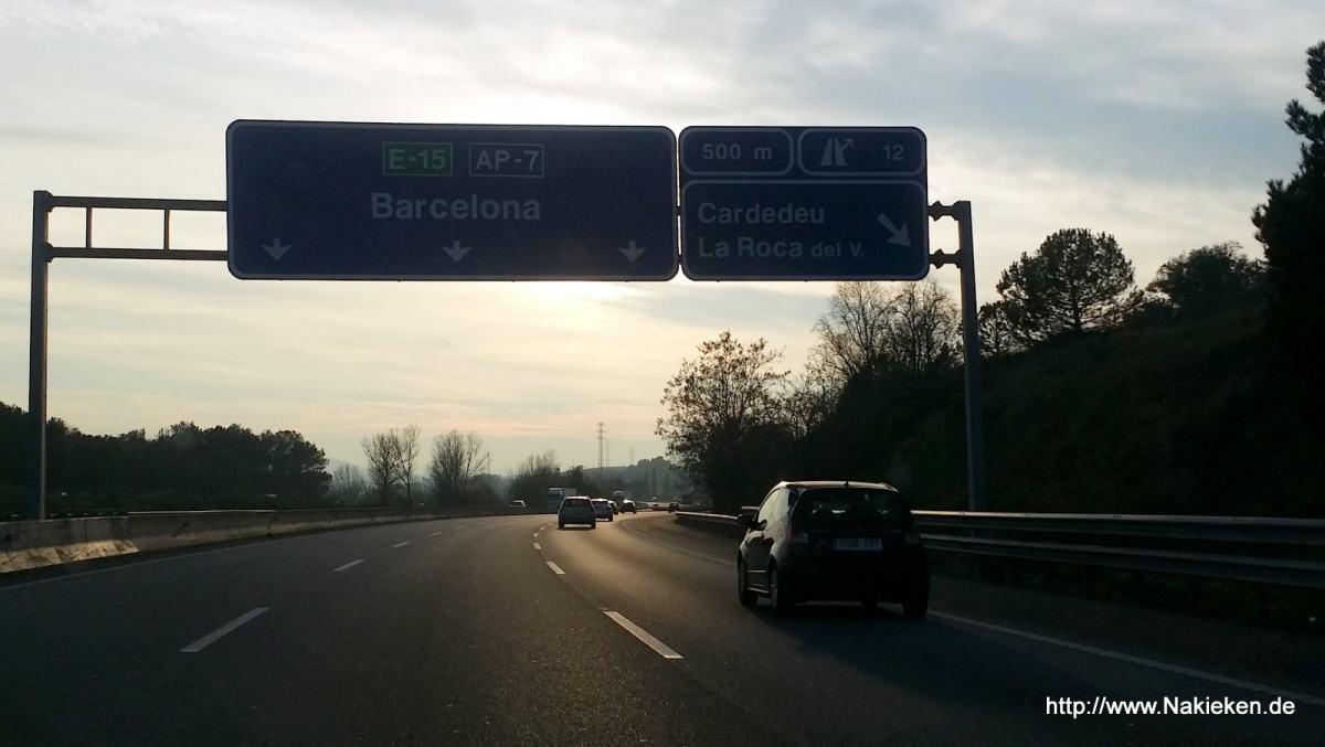 Über Weihnachten mit dem Auto nach Spanien