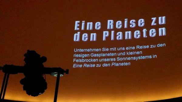 Eine Reise zu den Planeten