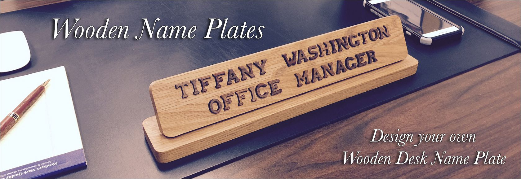 Name Plates To Make Any Office Unique Desk Door Or Wall