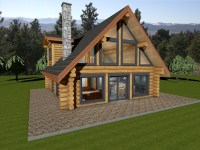 Horseshoe Bay | Log House Plans | Log Cabin | BC | Canada ...