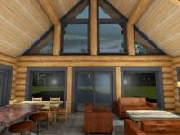 Horseshoe Bay   Log House Plans   Log Cabin   BC   Canada ...