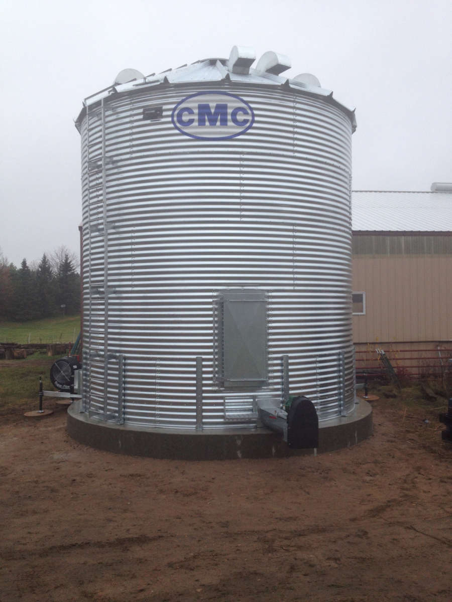 Grain Bin The Final Chapter Nami Moon Farms Custer WI IMG  Grain Bin The Final Chapter