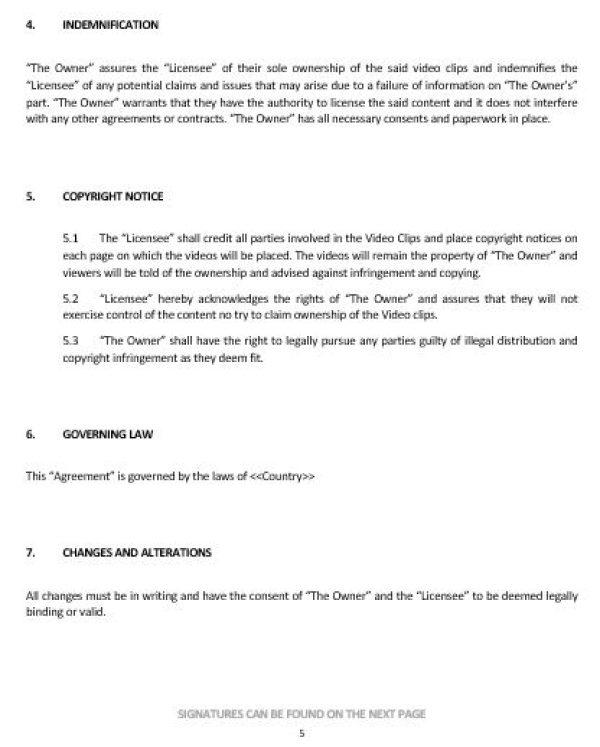 Trademark License Agreement, Sample Trademark License - sample licensing agreement