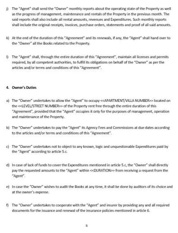 NE0213 Property Management Agreement Template \u2013 English \u2013 Namozaj