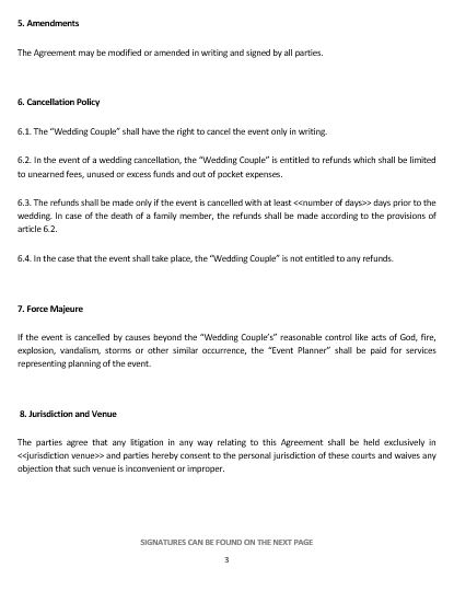 sample letter of termination of services