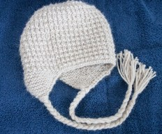 Luxurious Handknit Alpaca Hat with Earflaps