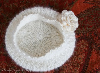 Whisper angora silk hat custom-0370