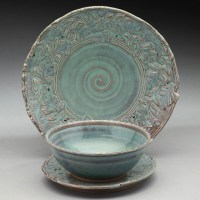 Dinnerware and Tableware Gallery - Nancy Zoller Pottery