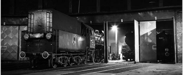 Steam train at Wolsztyn, Polen (5D313665)