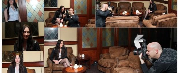 Impressie van de foto sessie met Petra