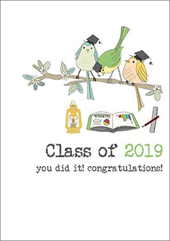 Dandelion Stationery - 2019 Congratulations - Graduation Card #DWW577